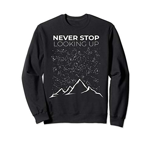 Sternbild Sterne Berge Nachthimmel Sweatshirt