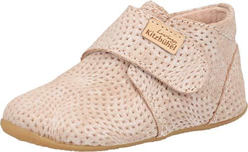 Living Kitzbühel Baby Mädchen 3707 Hausschuhe, Pink (Woodrose 334), 24 EU thumbnail
