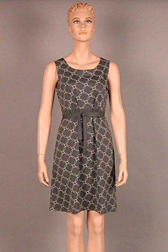 Nanso Maxi Shirt Nachthemd 95 cm Sleepshirt Hauskleid Strandkleid Gr. S M L (42-44 / L, Stone)