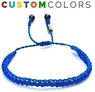 RUMI SUMAQ Custom Friendship Bracelet for Men and Women: Handmade Macrame Knotted Rope Jewelry Best Friends Gift