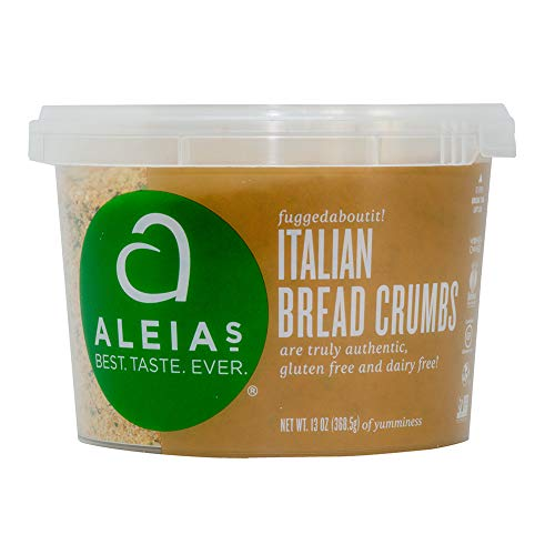 Aleia's Gluten Free Italian Bread Crumbs 13 oz, Pack of 1