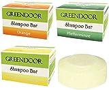Spar-Set Greendoor Shampoo Bar VITAL, 3 Sorten, 3 x 75g, festes Haarshampoo ohne Sulfate,...