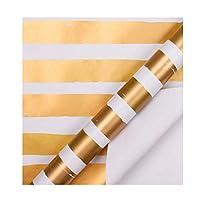 ギフト包装紙ギフトボックス工芸品包装材料ホリデーパーティー包装紙DIY装飾用品(Size:F)