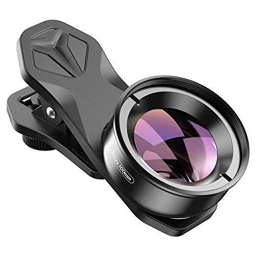 APEXEL Professional Macro Photography Lens for Dual Lens/Single Lens iPhone,Pixel,Samsung Galaxy Smartphones