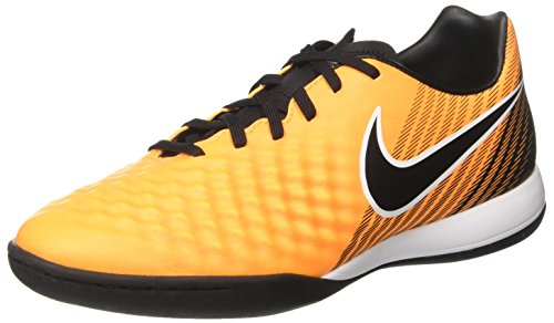 Nike Magistax Onda II IC, Zapatillas de Fútbol para Hombre, Naranja (Laser Orange/Black-White-Vert Volt-White), 40 EU