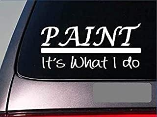 Paint Sticker Decal *E316* Brush Canvas Print Picture Museum Oil Based Water Art