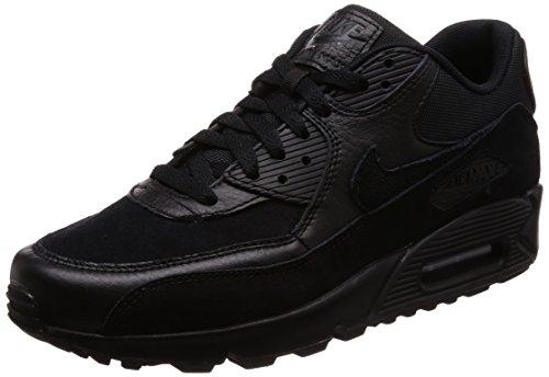 Nike Herren Air Max 90 Premium-700155 Gymnastikschuhe, Schwarz (Black/black 012), 42 EU
