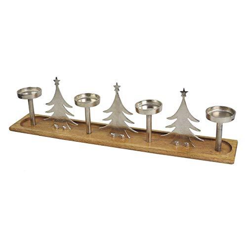 Casablanca - Adventsleuchter - Kerzenständer - Kerzenleuchter - Tree - Mangoholz
