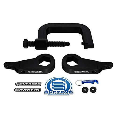 Supreme Suspensions - Front Lift Kit for 1998-2012 Ranger & 2001-2009 Ranger Edge Adj. 1' to 3' Front Lift High-Strength Steel Max-Torsion Keys + Torsion Bar Unloading Tool