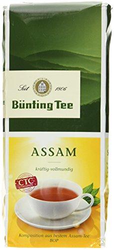 Bünting Tee Assam 250 g lose, 7er Pack (7 x 250 g)