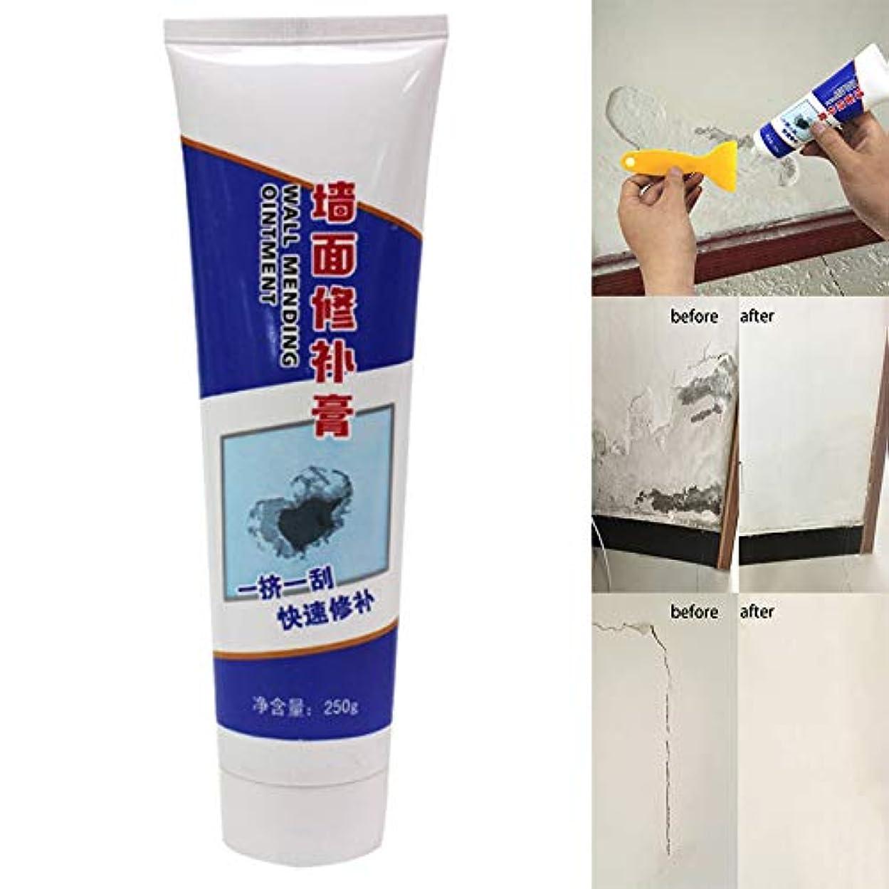 回る黙認するフェードAylincool壁修理クリーム、壁亀裂修理クリーム、ラテックスペースト防水非腐食性ホルムアルデヒドペーストラテックス
