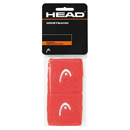 HEAD Unisex– Erwachsene 2,5 Schweißband, Coral, One Size