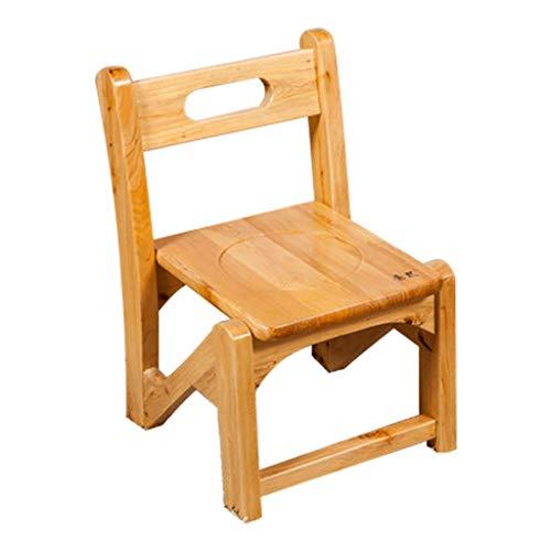 Thuis magazijn Schoenbank Effen Hout Lage Kruk, Kinderstoel Stepping Kruk Anti-Slip Veiligheid Badkamer Stoel voor Woonkamer/Slaapkamer/Balkon Milieubescherming