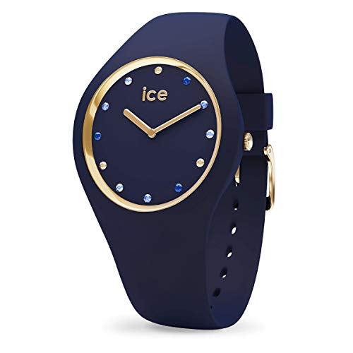 ICE-WATCH ICE Cosmos Blue Shades - Reloj Azul para Mujer con Correa de Silicona, 016301 (Small)