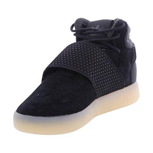 Zapatillas Adidas Originals Tubular Invader Strap J para niños, (Negro, vinwht), 37 EU