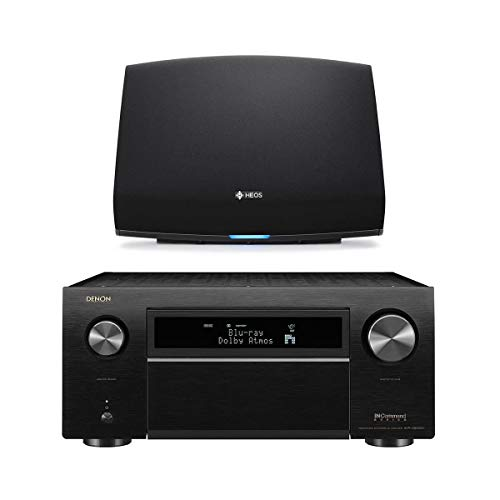 Best Prices! Denon AVR-X8500H 13.2 Channel Home Theater Receiver (Black) with HEOS 5 Wireless Stream...