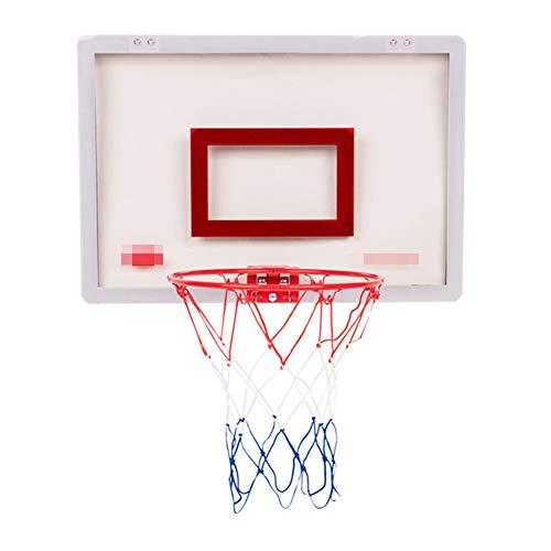 MHCYKJ Mini Canasta De Baloncesto para Casa La Puerta Juego Aro Interior con Pelota Y Bomba Niños Basquetbol Bola Infantil Tablero Pared