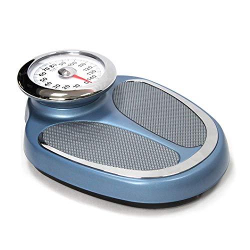 ZJZ Báscula de baño mecánica, Básculas de precisión para médicos, Báscula de Peso médica Profesional para la Salud, Básculas de Esfera Grande, Capacidad de 200 kg