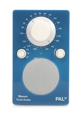 Tivoli PAL BT Tragbares Bluetooth UKW-/MW-Radio in Blau