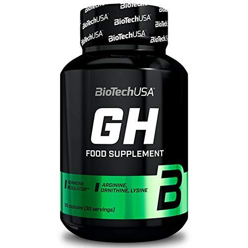 BIOTECH USA Food Supplement 120 Caps.   Arginina   Ornitina   Lisina   Crescita muscolare e pompa muscolare tramite supporto ormonale