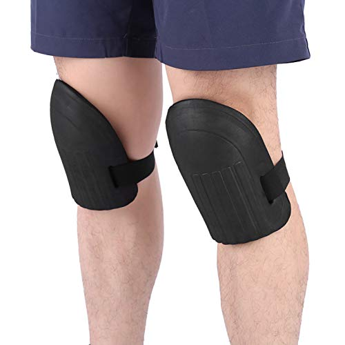 HUANGDANSEN Knee Pads 1 Pair of Soft Foam Knee Pads, Sports Knee Pads, Ski Pads, Fitness Yoga Roller Knee Pads, Safety