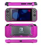 snakebyte Switch TOUGH:CASE - strawberry pink - harte Schutzhülle - Hardcover für Nintendo Switch