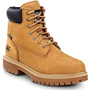 Timberland PRO 6-inch Direct Attach Men's, Wheat, Steel Toe, EH, Slip Resistant, Waterproof Boot (14.0 W)