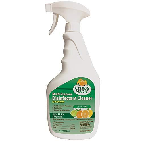 Citrus Magic Multi-Purpose Disinfectant Cleaner, Citrus, 32-Fluid Ounce