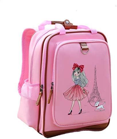 Girls Backpack 15 Pink Kids School Book Bag for Kindergarden or Elementary Girl in Paris product image
