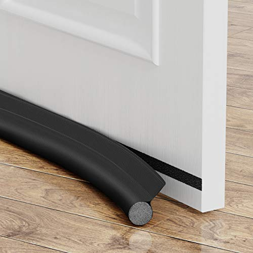 Velcro-enabled Door Draft Stopper