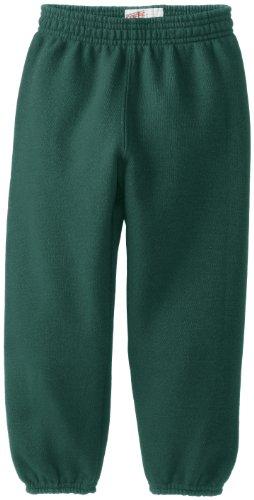 Soffe Little Boys' Heavyweight Sweat Pant, Dark Green, Small