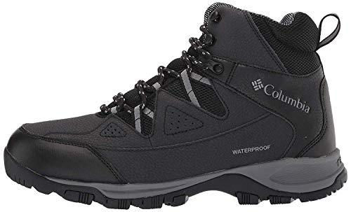 Columbia Men's Liftop III Snow Boot, Black, ti Grey Steel, 10.5