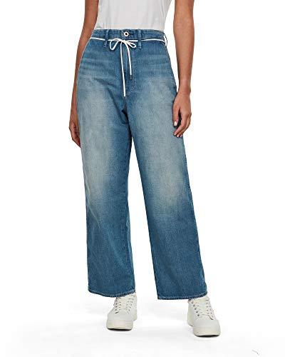 G-STAR RAW Damen Jeans Lintell High Dad Wmn, Antic Faded Marine Blue 9657-B460, 29W / 34L