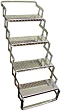 C. R. Brophy AS04 Aluminum Scissor Steps - 4 Step, 31