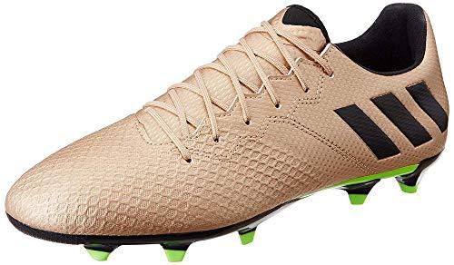 adidas Messi 16.3 FG, Scarpe da Calcio Uomo, Marrone (Bronzo/Cobmet/Negbas/Versol), 48 EU
