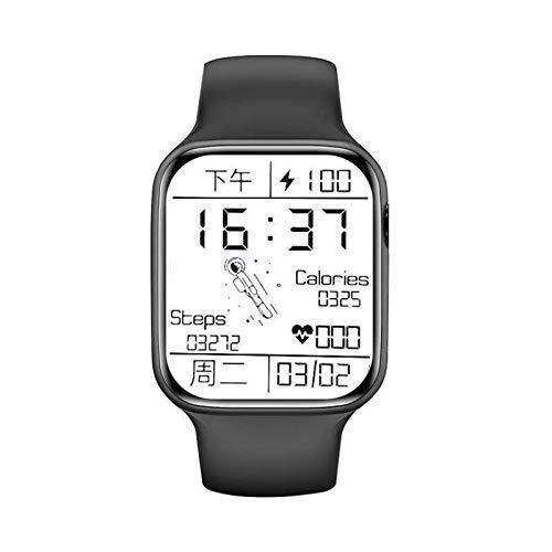 ZGNB 1.75 Pulgadas HW22 HD Pantalla HD SmartWatch Llamada Bluetooth DIY Dial Sports Impermeable Smart Watch Reloj de Fitness para Androis iOS,D