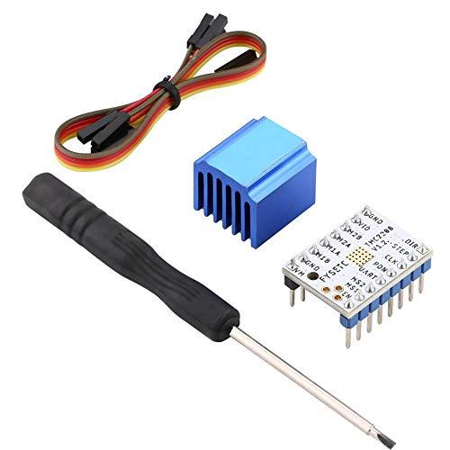 TMC2208 / TMC2100 / TMC2130 Motor paso a paso con disipador de calor con accesorio 1A Módulo de controlador de motor paso a paso de corriente máxima, controlador de(TMC2208)