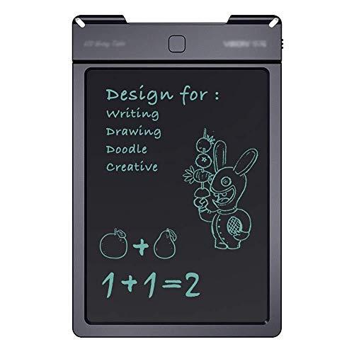 13 inch LCD Writing Tablet, slim papier for het tekenen Inclusief Stylus Pen (zwart, Gr ?? e: 13 inch) (Kleur: Zwart, Maat: 13 inch), Gr ?? e: 13 inch, Zwart (Color : Black)