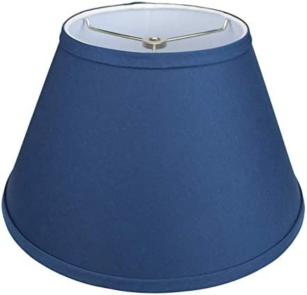 FenchelShades com Lampshade 7 Top Diameter x 13 Bottom Diameter x 8 Slant Height with Washer product image