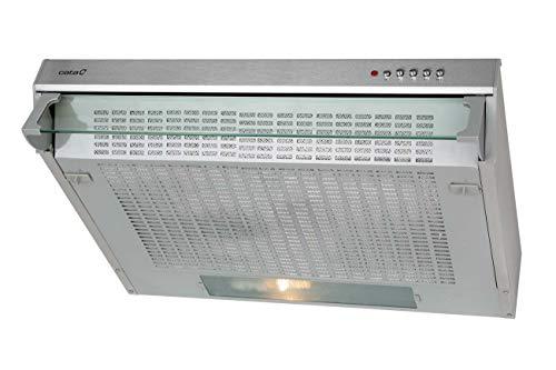 CATA F 2260 X 300 m3/h Encastrée Inox D - Cloche (300 m3/h, canalisé/recirculation, E, D, 69 dB)