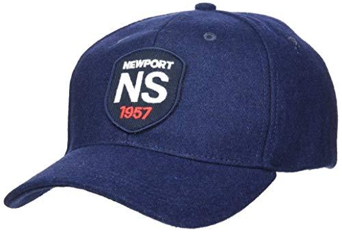 NORTH SAILS Herren Baseball Kappe in Navy Blau Mit Verstellbarer Rückwärtiger Schnalle - Gesticktes Frontlogo - Eine Größe