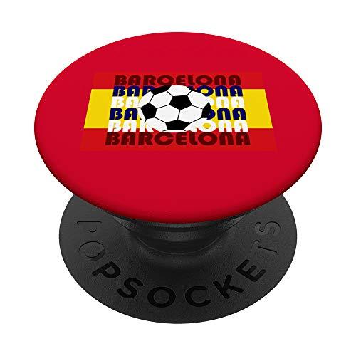 Barcelona España Fútbol Versión 4: Gran Bailarín de la Bauha PopSockets PopGrip:...