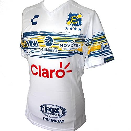 maglia everton Everton (Chile) Maglia da calcio da uomo Away 2020 - bianco - M