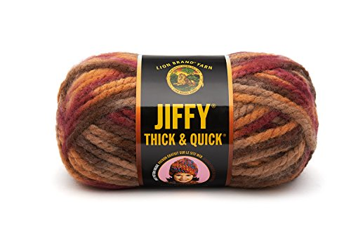 Lion Brand Yarn Jiffy Thick and Quick Yarn