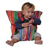 SNS 611Sack'n Seat–Asiento infantil portátil–A rayas