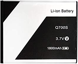 RSTEK Battery for Q700S 1800mAh Original Battery Compatible for Xolo Q700S / 523450ARE