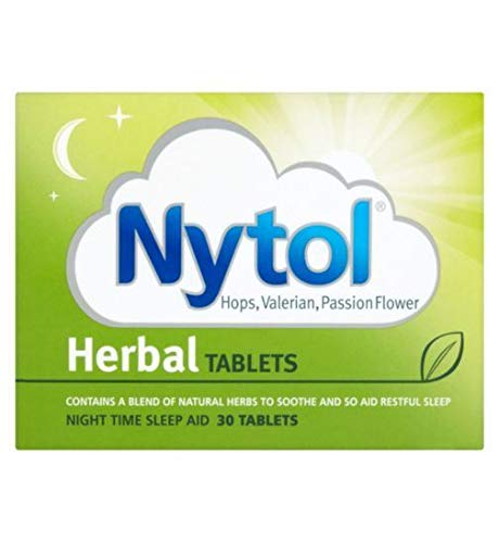 Nytol Herbal Tablets Night Time Sleep Aid 30 Tablets - 2 Pack