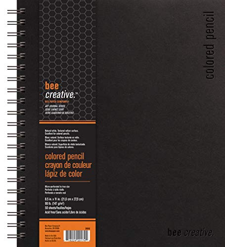 Bee Paper Company Bee Paper Bee Creative Colored Pencil Book
