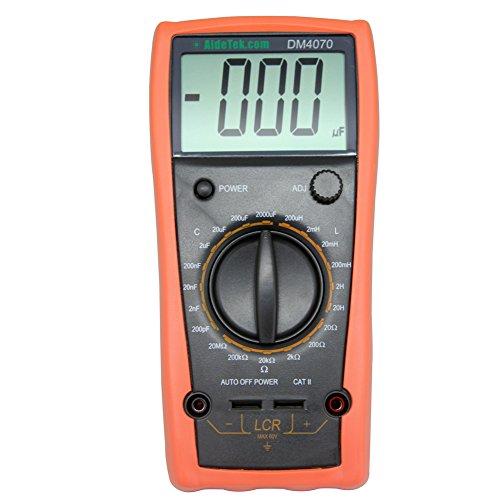 DM4070 LCR meter Kapazität, Widerstand Induktivität Selbstentladung im Vergleich DM4070 Lcr-Messgerät (Induktivitätsanzeiger, Kapazität