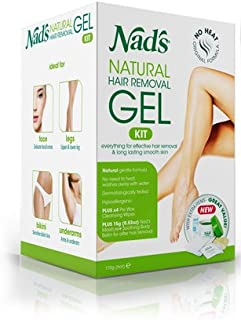 Nad's No-Heat Hair Removal Gel, 6 oz (170 g)